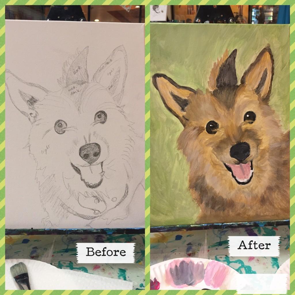 Paint your Tavish via wantmorepuppies.com